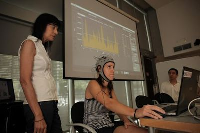 Brain Polyphony Demonstration. Picture Credit: CRG