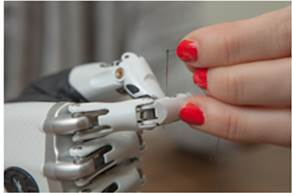 bebionic small hand perfectly mimics the functions of a real hand via 14 different precision grips