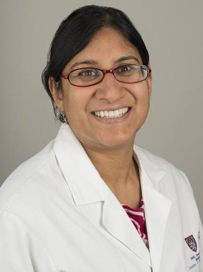 Rupal Bhatt, M.D., Ph.D., corresponding author and medical oncologist at Beth Israel Deaconess Medical Center - Photo Credit: Beth Israel Deaconess Medical Center.