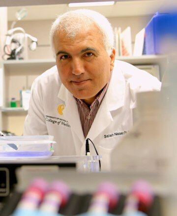 Saleh Naser and his team UCF College of Medicine researchers has discovered a link between rheumatoid arthritis and Mycobacterium avium subspecies paratuberculosis, known as MAP, a bacteria found in about half the cows in the United States - Image Credit: UCF College of Medicine.