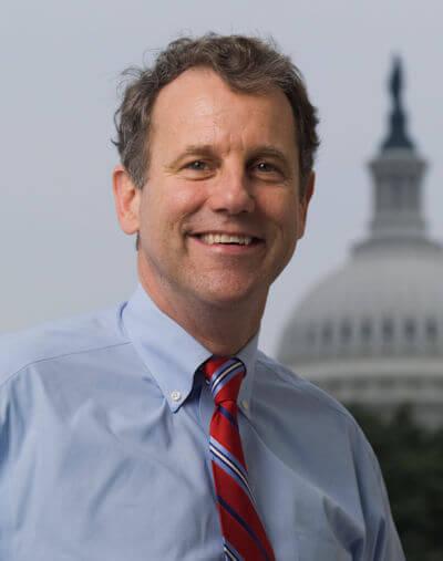 United States Senator Sherrod Brown.