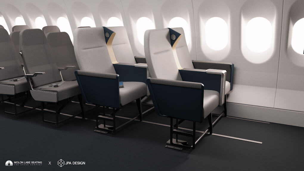 Airline Side Slip Seat - 1