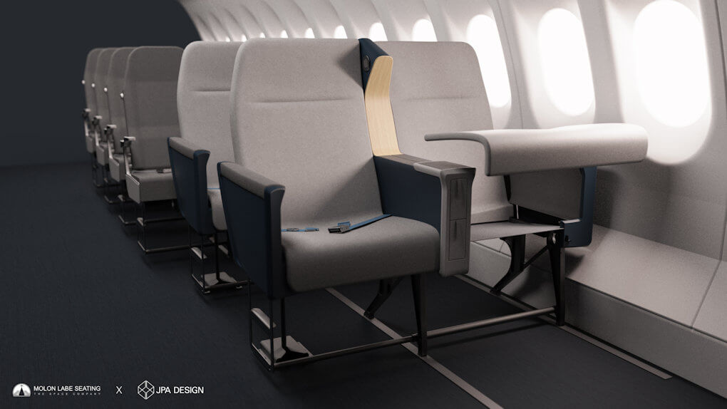 Airline Side Slip Seat - 3