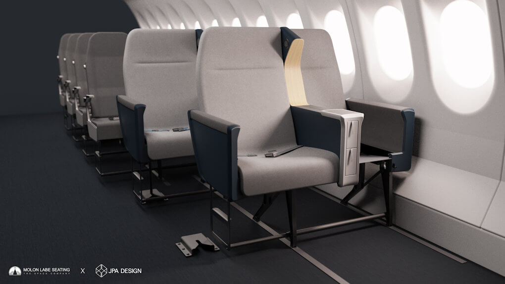 Airline Side Slip Seat - 4