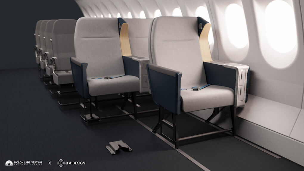 Airline Side Slip Seat - 5