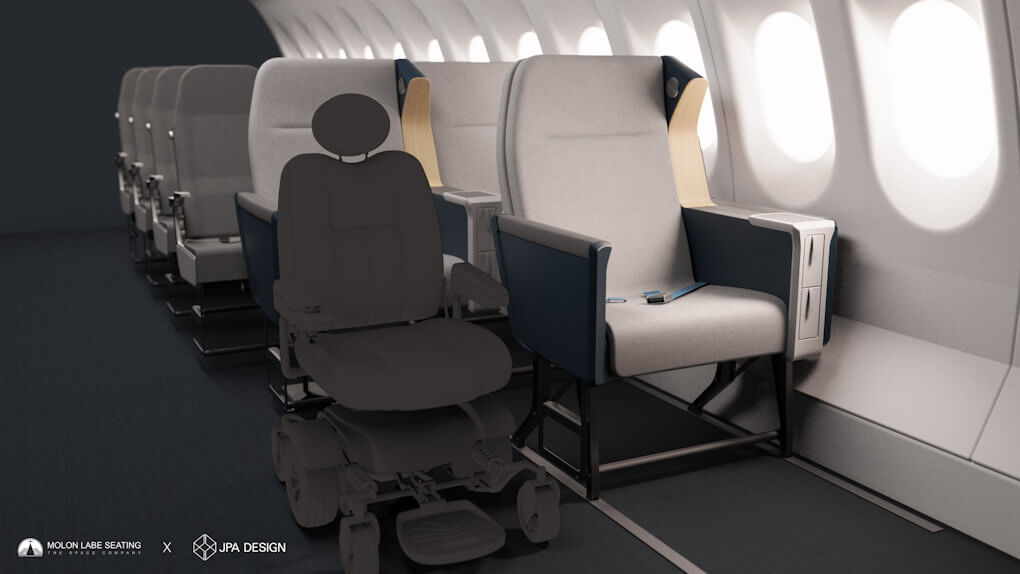 Airline Side Slip Seat - 6