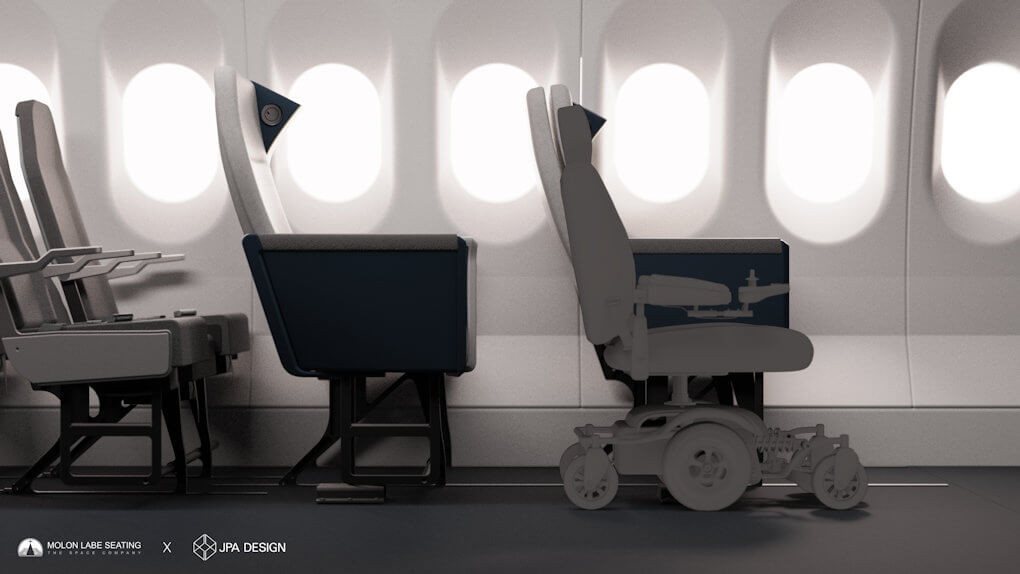 Airline Side Slip Seat - 7