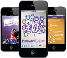 Hereward College Smartphone App