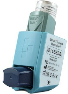 Smartinhalers are easy to use. They clip onto an inhaler, and record date and time of medication use. They automatically send usage data to an App, Hub, or PC via Bluetooth. And then sing a song when it's time to take preventative medication. Simple, easy to use, and clinically proven to work. Picture Credit: Nexus6