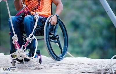 Softwheel - The perfect offroad wheelchair wheels