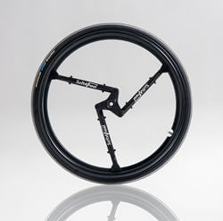 SoftWheel's patented technology places a revolutionary suspension system inside the wheel itself.