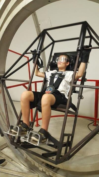 Space Camp - Photo Credit: Lighthouse for the Blind-Saint Louis