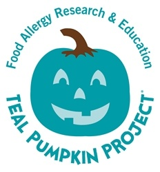 Annual awareness campaign from Food Allergy Research & Education aims for teal pumpkins on every block in America in support of children with food allergies.