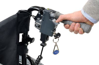 Wheelchair Powerpack PLUS hand controls