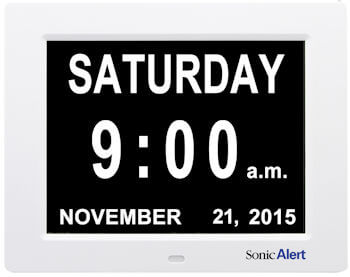 Sonic Alert Day and Time Clock