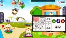 Timocco motion gaming software is designed to develop motor, cognitive and communication skills.