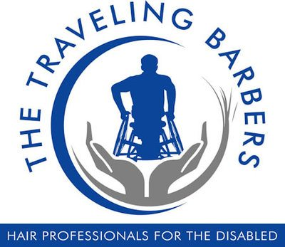 The Traveling Barbers Logo.