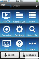 U-verse Easy Remote