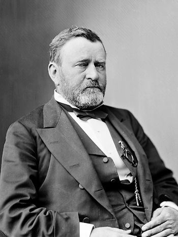 Ulysses S. Grant, the 18th President of the United States. At the age of 63 after a year-long struggle with throat cancer Grant died at Mount McGregor cottage on July 23rd, 1885.