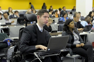 Participants at the Fifth Session of the Conference of States Parties to the Convention on the Rights of Persons with Disabilities. UN Photo/Evan Schneider.
