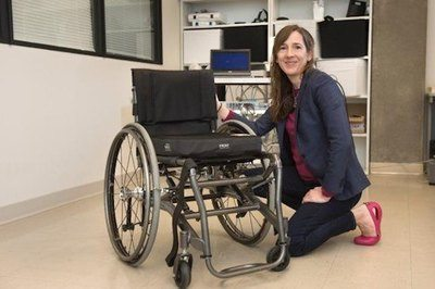 Simon Fraser University researcher Victoria Claydon finds that bowel care is the number one concern for those with spinal cord injury - Photo Credit: Simon Fraser University.