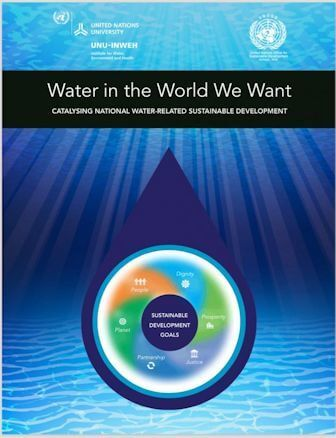 Report cover - Water in The World We Want