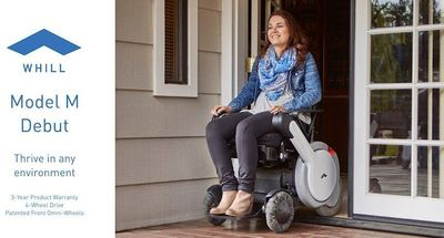 With a simplistic design and advanced technology, the Model M provides high-quality mobility in a versatile way.
