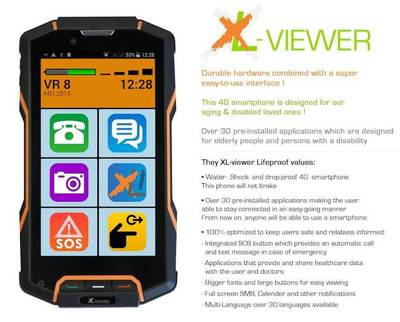 XL Viewer Smartphone Features